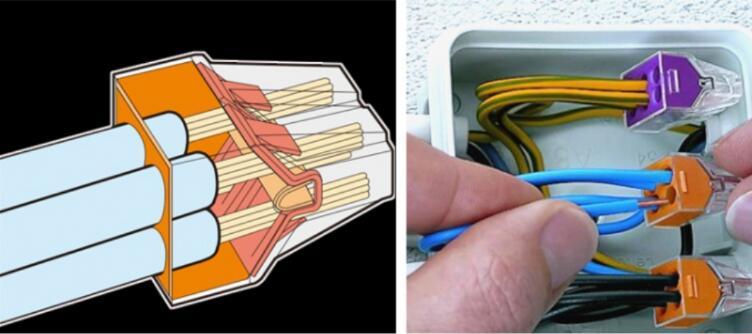 优点:能有效避免因电线接触不良而出现短路,短路,漏电,电阻增大打火等